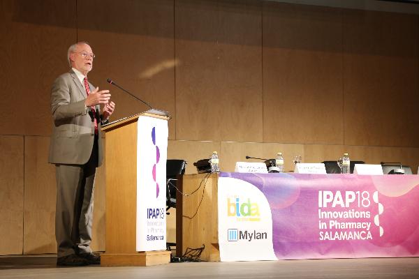 El Premio Nobel Phillip Sharp inaugura el Congreso IPAP18
