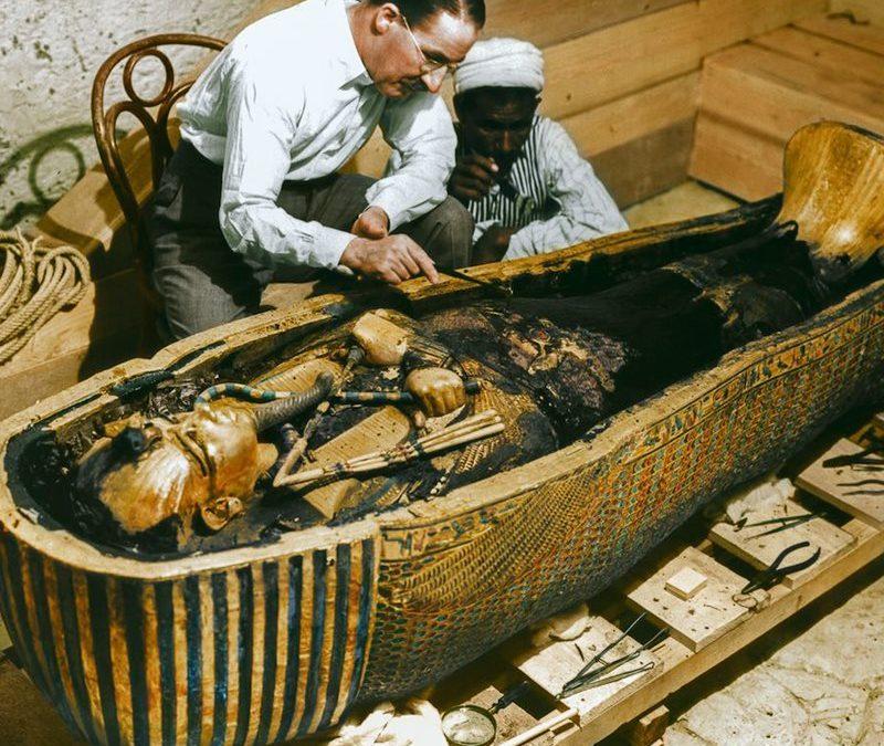 Los hongos podrían estar detrás de la maldición de Tutankamón
